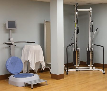 Biodex Balance System Rehab