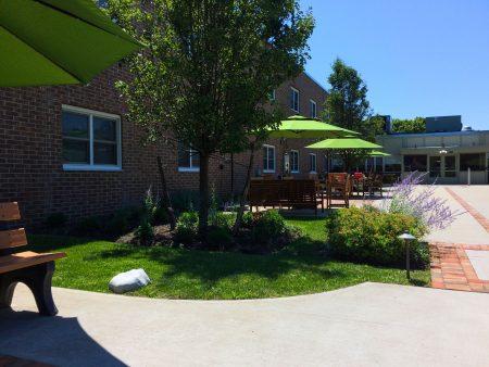 Serenity garden at San Simeon