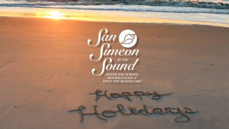 Happy Holidays from San Simeon by the Sound