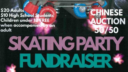 Skating Party Fundraiser Feature Image