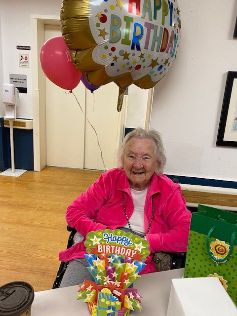 Mary Tuthill 106th birthday