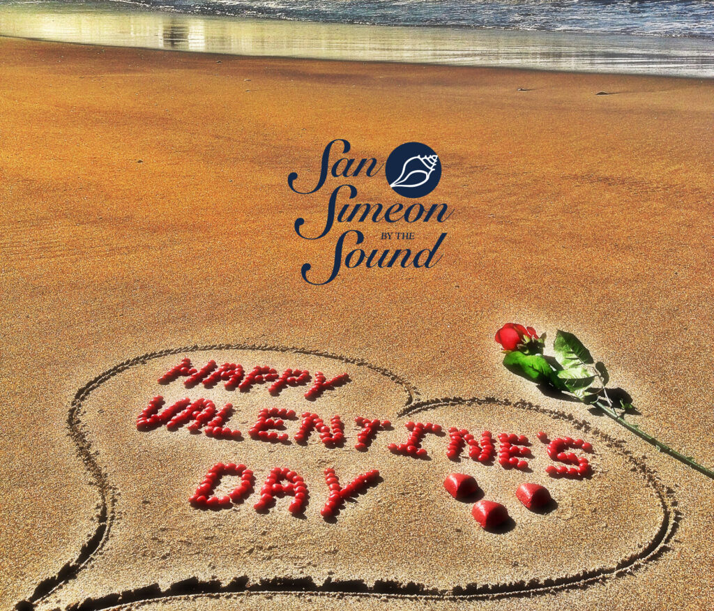 Happy Valentine's Day from San Simeon by the Sound