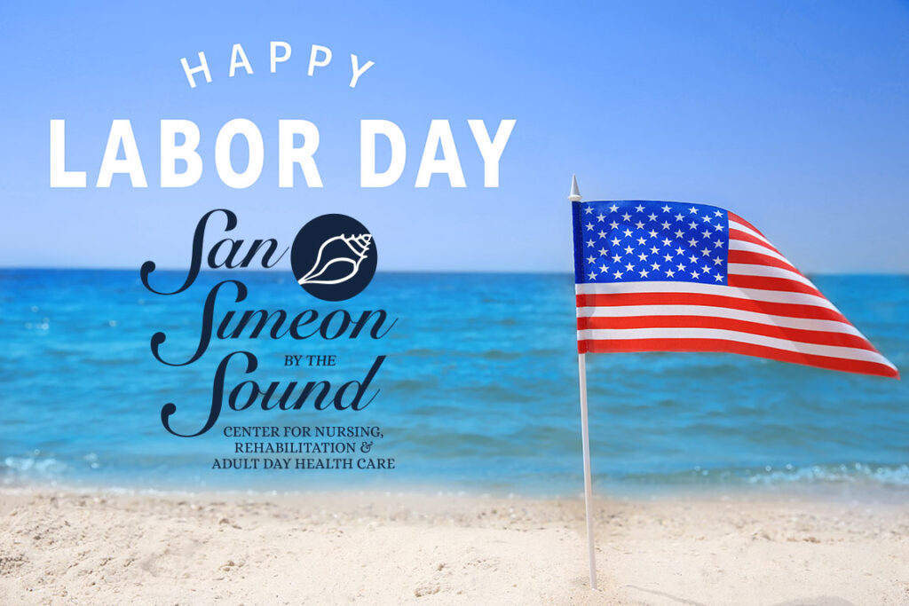 Happy Labor Day from San Simeon by the Sound